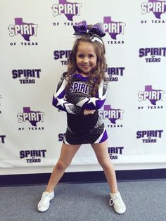 This little girl is so cute Cheer Athletics, Cheerleading, Cheer Quotes, Future Daughter, Sports Mom, Minis, Little Girls, Athlete, Dance