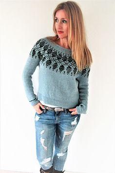 Ravelry: Humulus pattern by Isabell Kraemer Knitting Machine Patterns, Sweater Knitting Patterns, Knit Patterns, Icelandic Sweaters, Casual Sweaters, Cardigans, Ravelry, Fair Isle Knitting, Sweater Design