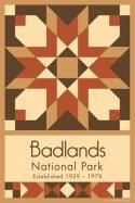 Badlands National Park Quilt Block