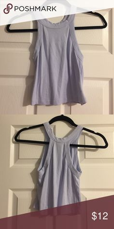 Truly Madly Deeply Lilac Tank Truly Madly Deeply lilac purple high neck tank from Urban Outfitters. Unworn in perfect condition with tags. Truly Madly Deeply Tops
