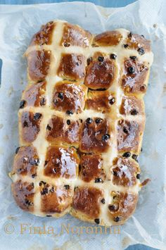 Easiest bread I have ever made http://www.mykitchentreasures.com/2014/04/saffron-hot-cross-buns.html