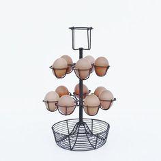 Countertop Egg Holder : Countertop egg holder/storage. Wire.