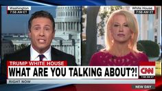 Chris Cuomo Gets Pissed Off As Kellyanne Conway Blames CNN Insted Of Answering Questions about Trump - She is EXHAUSTING!
