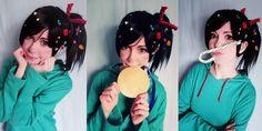 Vanellope cosplay Wreck-It Ralph by *Tenori-Tiger on deviantART