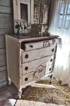 Fabulous vintage dresser Redoux. Love! (Inventory:2)