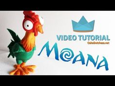 How to make Hei Hei from Disney's Moana - Cake Decorating Tutorial - YouTube