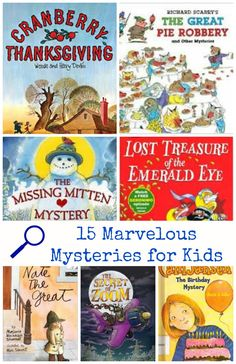 Great books for kids who love mysteries and detective stories -- suggestions for kids of all ages!