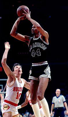 The Ice Man Cometh!! George Gervin of the San Antonio Spurs