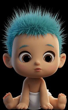 Baby Cartoon Characters, Cartoon Pics, Girl Cartoon, Cartoon Drawings, Cartoon Art, Cute Drawings, Funny Happy Birthday Song, Hd Cute Wallpapers, Cartoon Kunst