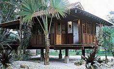 Perfect beach home -  28 fachadas de chalés e casas de madeira - Casa