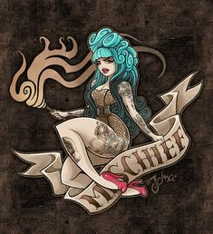 Miss Mischief by ~nosredna1313. ❣Julianne McPeters❣ no pin limits