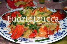 astice in salsa orto e mare #lobsters