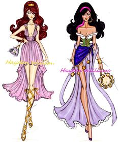 Disney Glamours by Hayden Williams