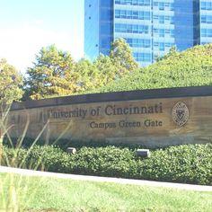 malratran: University of Cincinnati #Ohio #nofilter