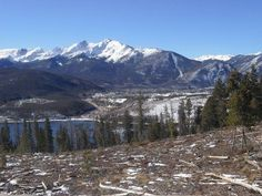 Georgous Snow Covered #Peaks - Dillon in #Summit County - read an article and see photos