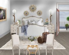 'Traditional White Bright Bedroom www.karendorseydesign.com' created in #neybers