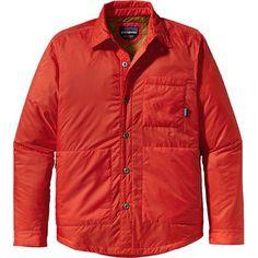 Vintage jacket shirt: Stoss Shirt (Mens) #Patagonia at RockCreek.com #waterrepellent #insulation