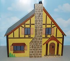 1930's Rich doll house