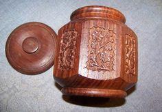 Team MadCap Charity  Detailed Wooden Jar with by TreasuredCharm, $23.95 #madcapcharity #madcap