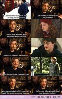 Dan, Emma And Rupert Just Get It…