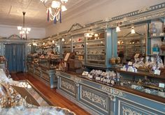 Shane Confectionery: Established more than 150 years ago, this Philadelphia landmark flourishes as the oldest continuously run candy shop in the United States.