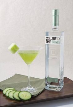 Square One Cucumber Vodka, nothing like it in the country. a must have...