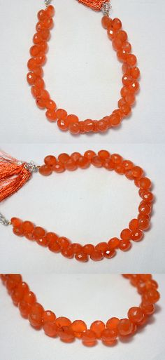 Carnelian 110790: Carnelian Faceted Onion Shape Gemstone Beads, 8Mm Approx 8 Inches Strand -> BUY IT NOW ONLY: $40.25 on eBay!