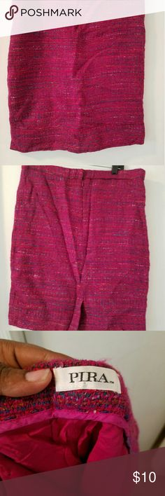 Super cute pencil skirt Pink multicolor pencil skirt pira Skirts Pencil