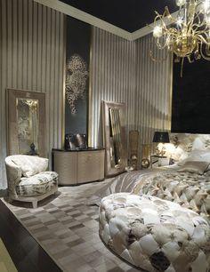 Roberto cavalli home home in 2019 luxury bedroom design, luxurious bedrooms, home Luxury Bedroom Design, Master Bedroom Design, Dream Bedroom, Luxury Interior, Home Bedroom, Bedroom Decor, Interior Design, Bedroom Ideas, Bedroom Carpet