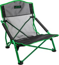 If you prefer to sit lower to the ground that standard camp chairs, the folding ALPS Mountaineering Lakeshore chair with armrests is the way to go. Camping Survival, Go Camping, Outdoor Chairs, Outdoor Furniture, Outdoor Decor, To Build A Fire, Natural Mosquito Repellant, Plastic Grocery Bags, Camping Chairs