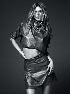 Malgosia Bela for Vogue Australia April 2015 | The Fashionography