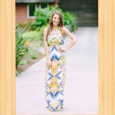 Get this gorgeous new maxi dress at 8pm cst tonight!! Big shot out to @KorieLynn Miller for these amazing photos!  (at http://www.hazelandolive.com)