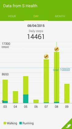 14461 step pedometer.
