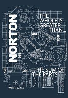 Norton Commando 750   Norton Commando 850
