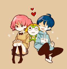 By あいうえお - Sergeant Frog - Natsumi, Keroro and Fuyuki #keroro_gunso