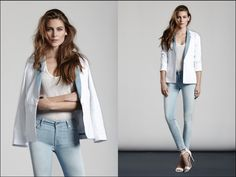 7 For All Mankind S/S 2014 Women's Lookbook