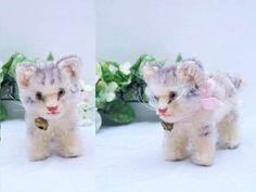 Sweet STEIFF CAT TABBY, 10 cm with button | eBay