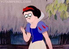 Derp Disney Animation Snow White