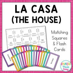 This is a set of 3 Spanish vocabulary games over the 21 Spanish-speaking countries and capitals. These are great hands-on activities to help students learn the Spanish-speaking countries and Reference Suggested Matching Squares 24 Flash BINGO Shee. Middle School Spanish, Elementary Spanish, Spanish Classroom, Teaching Spanish, Spanish Grammar, Spanish Vocabulary Games, Spanish Games, Spanish Lessons, Spanish Worksheets