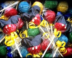 Hey, I found this really awesome Etsy listing at https://www.etsy.com/listing/220001799/mickey-mouse-cake-pops-mickey-mouse