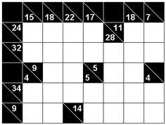 Number Logic Puzzles: 22710 - Kakuro size 1