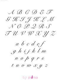 Des Alphabets Gratuits A Telecharger Pochoir Alphabet Pochoirs Imprimables Gratuits Lettre Alphabet A Imprimer