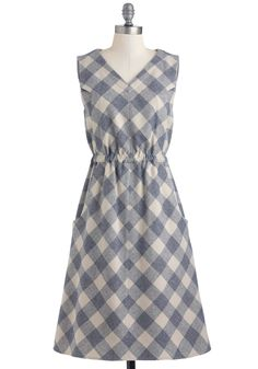 Washougal Plaid dress by Pendleton, The Portland Collection