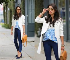 In The Navy (by Annabelle Fleur) http://lookbook.nu/look/4660377-In-The-Navy