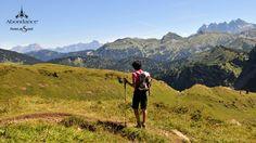 Descente en randonnée depuis Tavaneuse - Abondance - Haute Savoie
