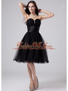 Black Sweetheart Modest 2013 Prom Dress With Beading and Ruch Organza  http://www.fashionos.com  where to buy prom dress | online prom dress store | strapless prom dress | beaded prom dress | strapless cocktail dress | sweetheart neckline prom dress | inexpensive prom dress in 2013 | black strapless prom dress | hot sellers prom dresses | how to get pretty mini-length dress for 2013 |  Get the look all your friends will envy in this amazing strapless sweetheart prom dress.