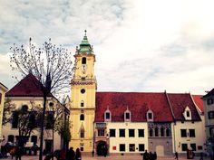Antuguo ayuntamiento Bratislava, San Francisco Ferry, Notre Dame, Building, Travel, Town Hall, Voyage, Trips, Buildings