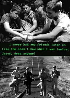 Stand By Me, One of my favorite movies!... R. I. P River Phoenix.