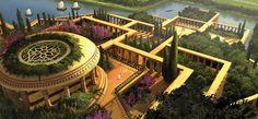 jardins suspensos da Babilonia 3