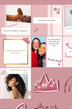 """Eye-catching Instagram Post Templates on Canva. Start building an engaging following (with a sprinkle of """"creative touch"""") with these beautiful and feminine Instagram templates! Great for female small businesses, entrepreneurs, social media marketers, bloggers and content creators. Remember, these templates are easily customisable on Canva to suit your brand authenticity. You can modify the colour, text, image, element and much more!"""